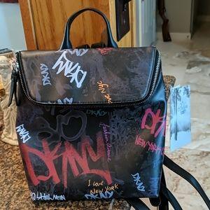 DKNY-mini backpack NWOT
